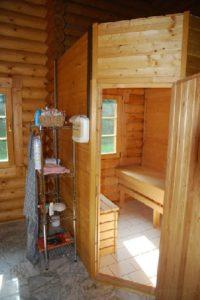 Sauna woonhuis Velden
