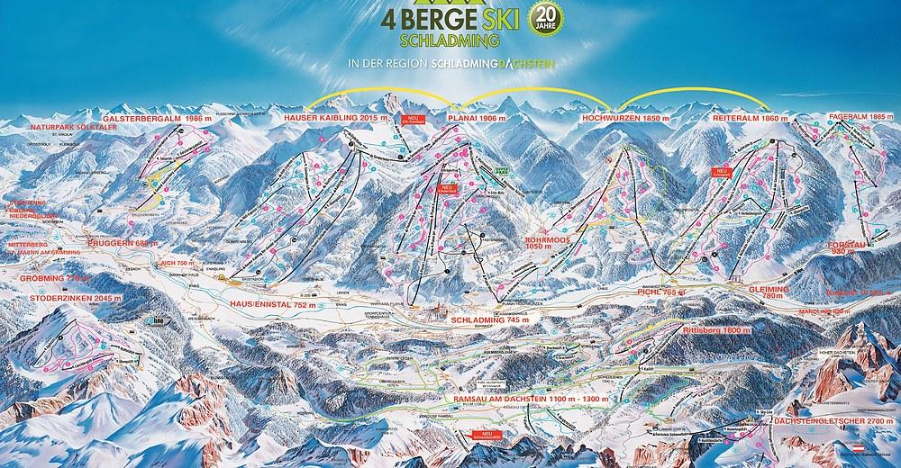 Skigebied Schladming